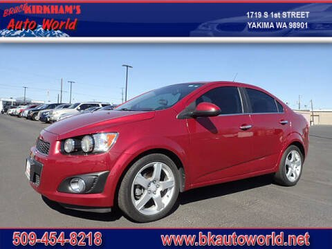 2013 Chevrolet Sonic for sale at Bruce Kirkham Auto World in Yakima WA