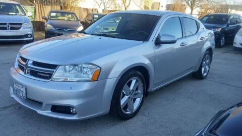 2011 Dodge Avenger for sale at Carspot Auto Sales in Sacramento CA