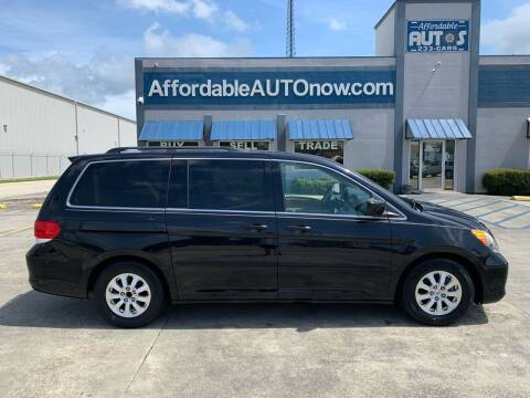 2008 Honda Odyssey for sale at Affordable Autos in Houma LA