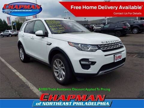 2018 Land Rover Discovery Sport for sale at CHAPMAN FORD NORTHEAST PHILADELPHIA in Philadelphia PA