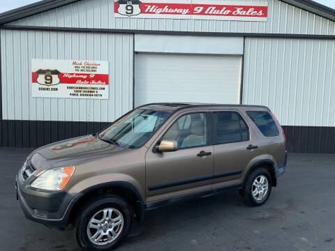 2002 Honda CR-V for sale at Highway 9 Auto Sales - Visit us at usnine.com in Ponca NE