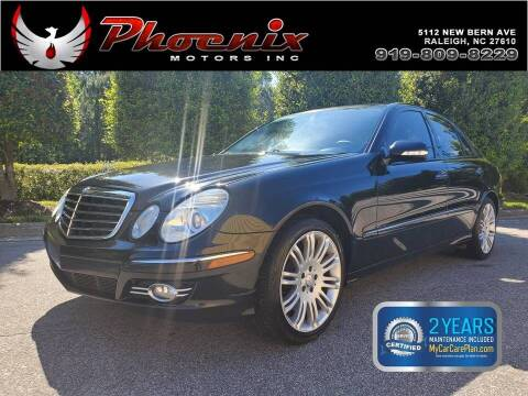 2008 Mercedes-Benz E-Class for sale at Phoenix Motors Inc in Raleigh NC
