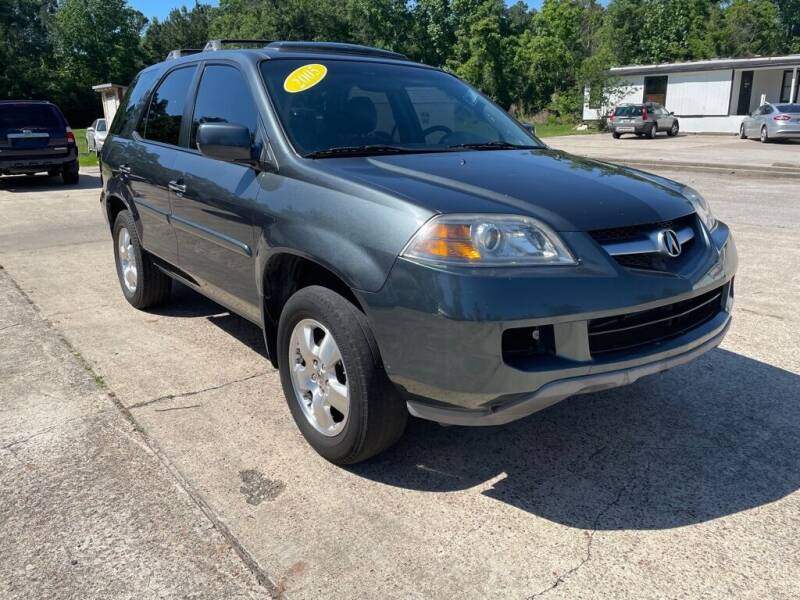 2005 Acura MDX for sale at AUTO WOODLANDS in Magnolia TX