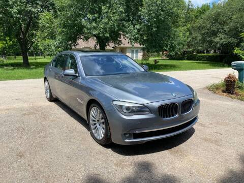 2012 BMW 7 Series for sale at CARWIN MOTORS in Katy TX