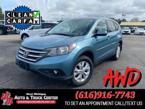 2014 Honda CR-V for sale at West Michigan Auto and Truck Center in Cedar Springs MI