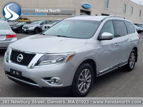 2014 Nissan Pathfinder for sale at 1 North Preowned in Danvers MA