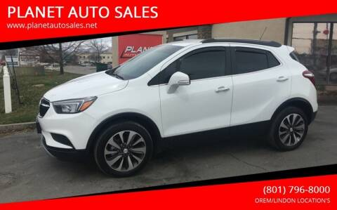 2017 Buick Encore for sale at PLANET AUTO SALES in Lindon UT