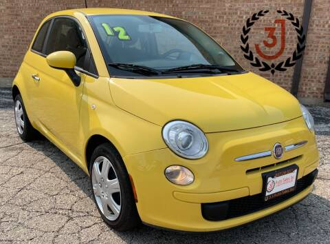 2012 FIAT 500 for sale at 3 J Auto Sales Inc in Arlington Heights IL