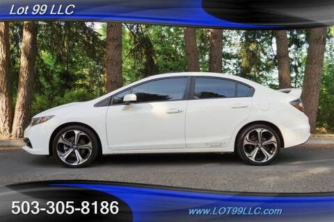 2015 Honda Civic for sale at LOT 99 LLC in Milwaukie OR