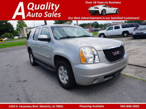 2009 GMC Yukon for sale at A Quality Auto Sales in Metairie LA