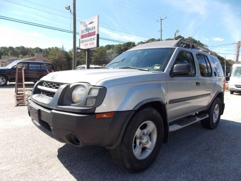 2004 Nissan Xterra for sale at Deer Park Auto Sales Corp in Newport News VA