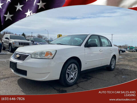 2006 Chevrolet Malibu for sale at Auto Tech Car Sales and Leasing in Saint Paul MN
