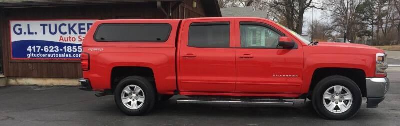 2017 Chevrolet Silverado 1500 for sale at G L TUCKER AUTO SALES in Joplin MO
