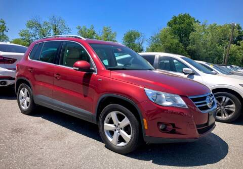 2010 Volkswagen Tiguan for sale at Top Line Import of Methuen in Methuen MA