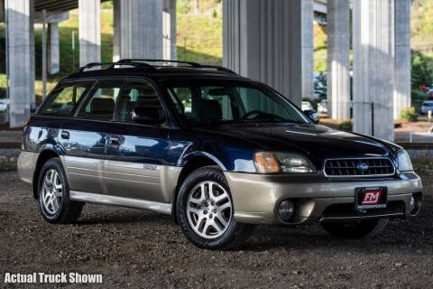2004 Subaru Outback for sale at Friesen Motorsports in Tacoma WA