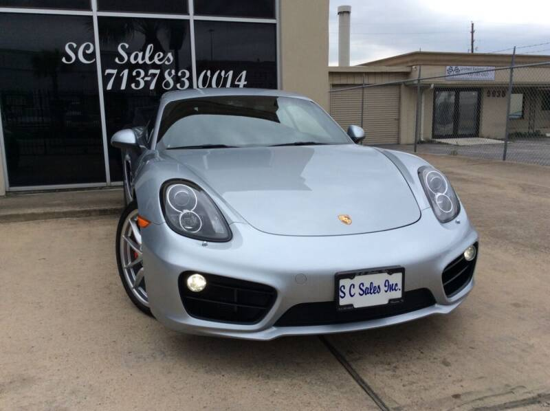 2014 Porsche Cayman for sale at SC SALES INC in Houston TX
