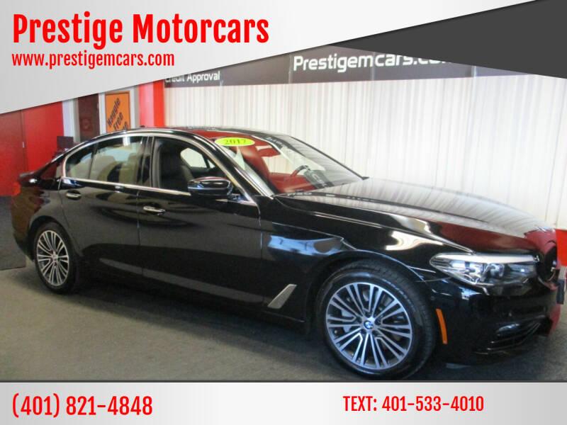 2017 BMW 5 Series for sale at Prestige Motorcars in Warwick RI