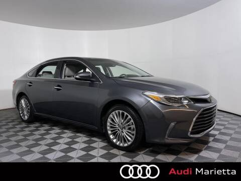 2018 Toyota Avalon for sale at CU Carfinders in Norcross GA