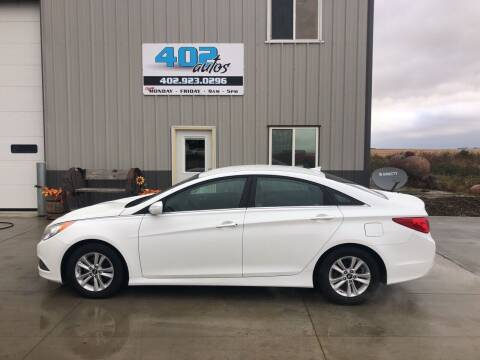 2014 Hyundai Sonata for sale at 402 Autos in Lindsay NE