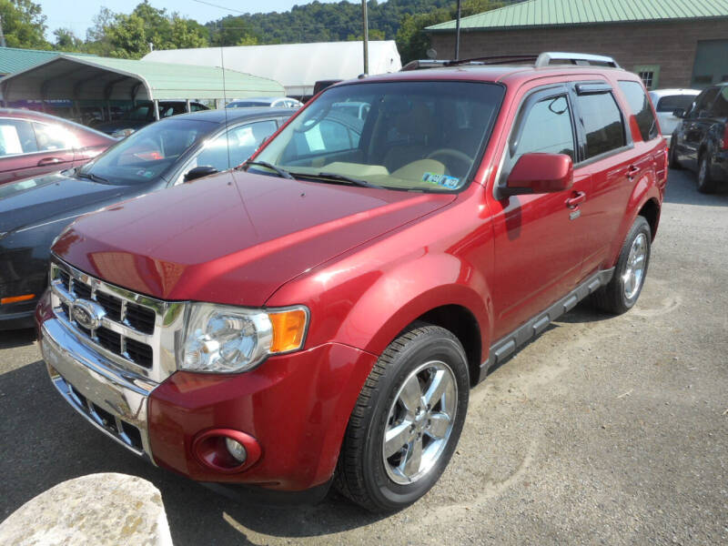 2012 Ford Escape for sale at Sleepy Hollow Motors in New Eagle PA