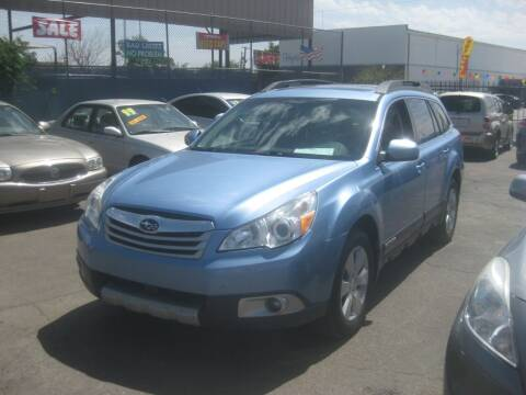 2010 Subaru Outback for sale at Town and Country Motors - 1702 East Van Buren Street in Phoenix AZ