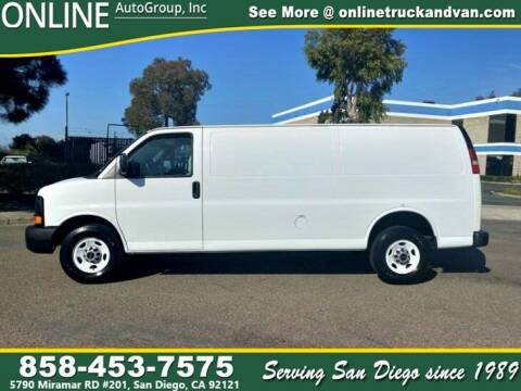 2014 GMC Savana Cargo for sale at Online Auto Group Inc in San Diego CA