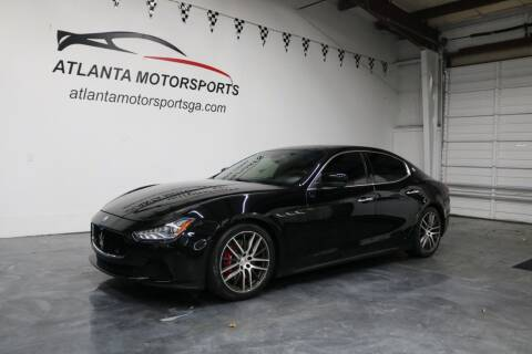 2015 Maserati Ghibli for sale at Atlanta Motorsports in Roswell GA