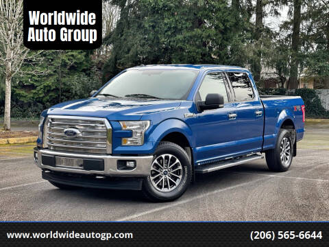 2017 Ford F-150 for sale at Worldwide Auto Group in Auburn WA