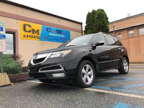 2010 Acura MDX for sale at Car Mart Auto Center II, LLC in Allentown PA
