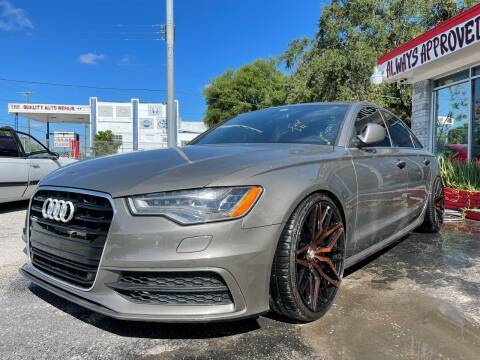 2015 Audi A6 for sale at Always Approved Autos in Tampa FL