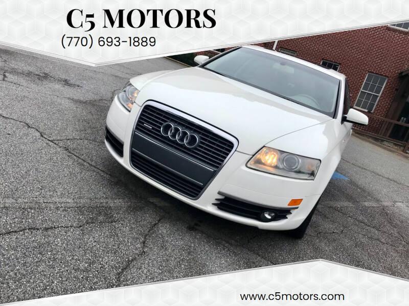 2005 Audi A6 for sale at C5 Motors in Marietta GA