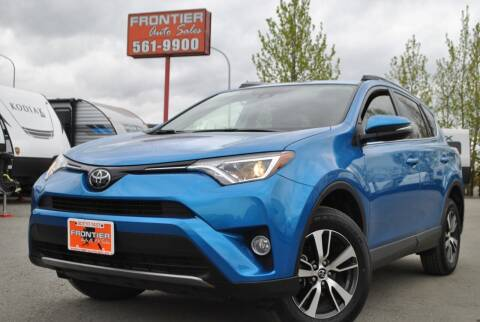 2018 Toyota RAV4 for sale at Frontier Auto & RV Sales in Anchorage AK
