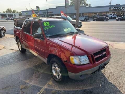 2003 Ford Explorer Sport Trac for sale at JBA Auto Sales Inc in Stone Park IL