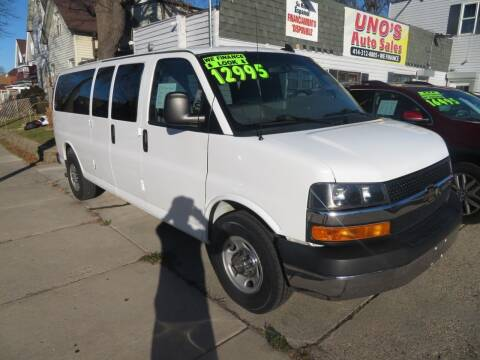 2016 Chevrolet Express Passenger for sale at Uno's Auto Sales in Milwaukee WI