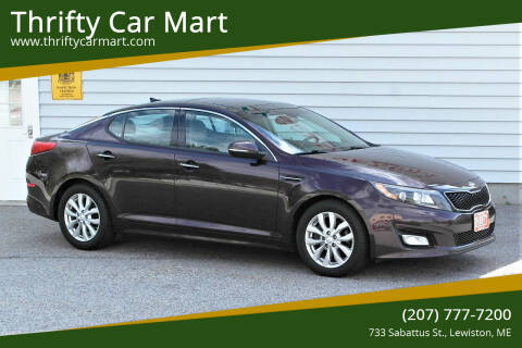 2014 Kia Optima for sale at Thrifty Car Mart in Lewiston ME