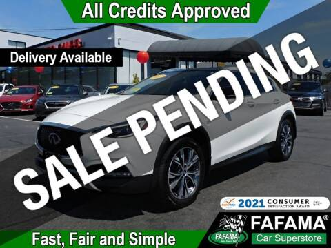 2017 Infiniti QX30 for sale at FAFAMA AUTO SALES Inc in Milford MA