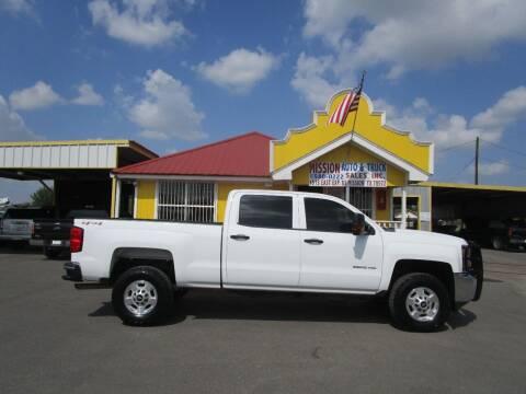 2015 Chevrolet Silverado 2500HD for sale at Mission Auto & Truck Sales, Inc. in Mission TX