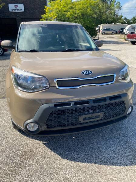 2015 Kia Soul for sale at VENTURE MOTORS in Wickliffe OH