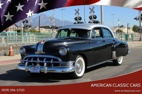 1950 Pontiac Chieftain for sale at American Classic Cars in La Verne CA
