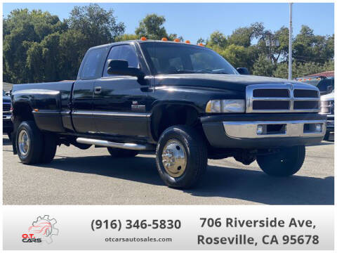 1995 Dodge Ram Pickup 3500 for sale at OT CARS AUTO SALES in Roseville CA