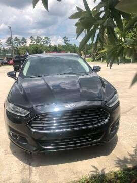 2016 Ford Fusion for sale at Gralin Hampton Auto Sales in Summerville SC