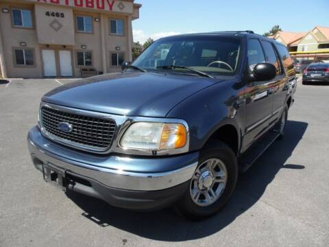 2002 Ford Expedition for sale at Best Auto Buy in Las Vegas NV