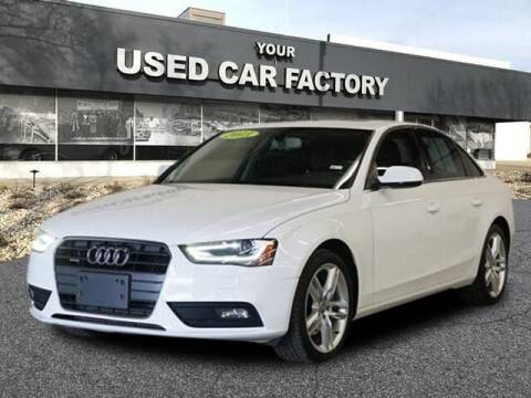 2013 Audi A4 for sale at JOELSCARZ.COM in Flushing MI