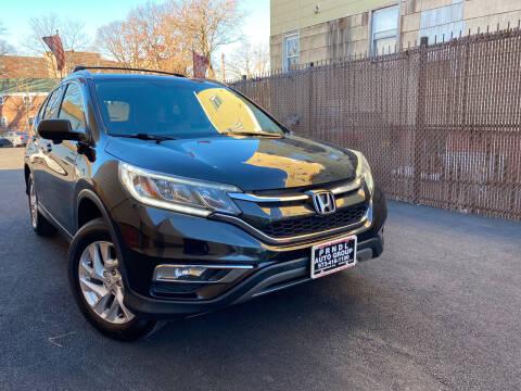 2015 Honda CR-V for sale at PRNDL Auto Group in Irvington NJ