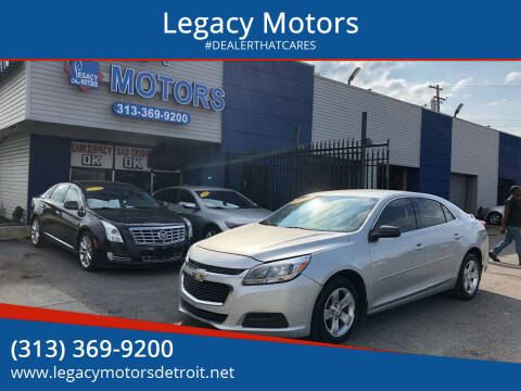 2014 Chevrolet Malibu for sale at Legacy Motors in Detroit MI