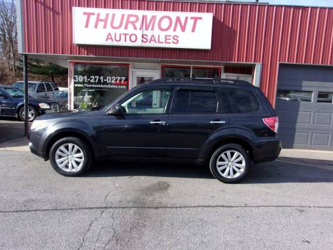 2012 Subaru Forester for sale at THURMONT AUTO SALES in Thurmont MD