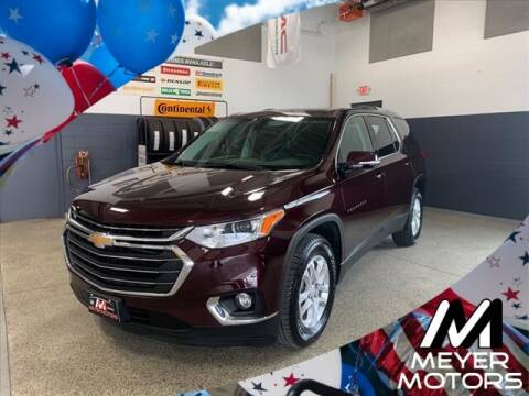 2018 Chevrolet Traverse for sale at Meyer Motors in Plymouth WI