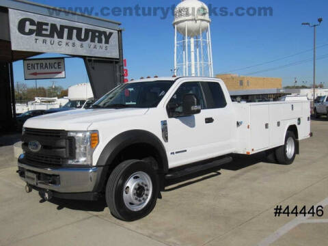 2017 Ford F-550 Super Duty for sale at CENTURY TRUCKS & VANS in Grand Prairie TX