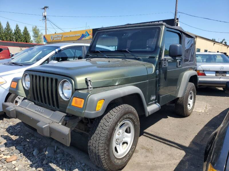 2006 Jeep Wrangler for sale at Ron's Auto Sales in Hillsboro OR