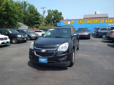 2014 Chevrolet Equinox for sale at Eagle Motors in Hamilton OH